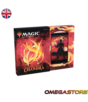 Signature Spellbook : Chandra - Magic the Gathering - Coffret Collector