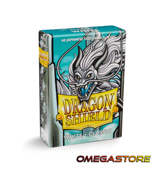 Blanc - Small - protège carte Dragon Shield