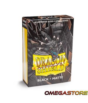 Noir Matte - Small - protège carte Dragon Shield