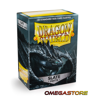 Slate Matte - Standard - protège carte Dragon Shield