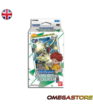 Starter Deck 4 - Giga Green - Digimon Card Game