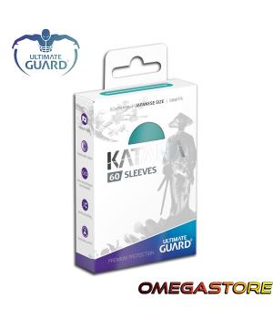 60 pochettes Katana Turquoise - taille Japonaise- Ultimate Guard