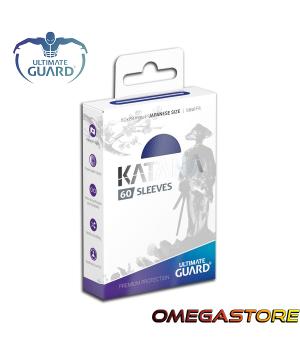 60 pochettes Katana Bleu - taille Japonaise- Ultimate Guard