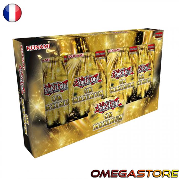 Coffret Gold Maximum - YuGiOh!