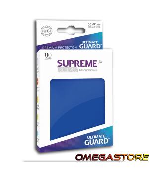 Ultimate Guard 80 pochettes taille standard Blanc Matte