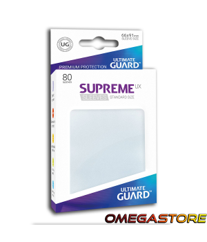 Ultimate Guard 80 pochettes taille standard Frosted
