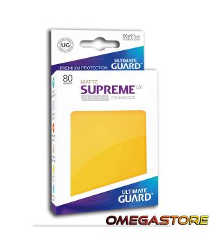 Ultimate Guard 80 pochettes taille standard Gris Jaune Matte
