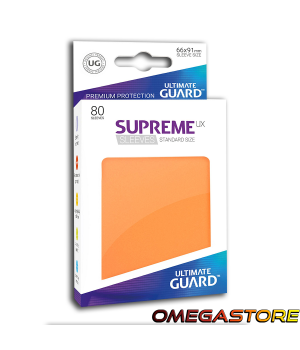 Ultimate Guard 80 pochettes taille standard Gris Orange