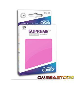 Ultimate Guard 80 pochettes taille standard Gris Rose