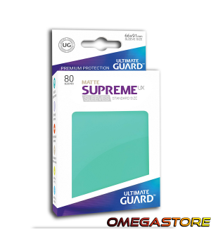 Ultimate Guard 80 pochettes taille standard Turquoise Matte