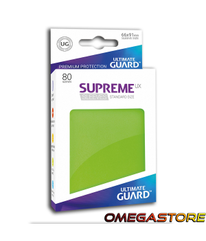 Ultimate Guard 80 pochettes taille standard Vert Clair