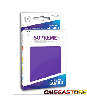 Ultimate Guard 80 pochettes taille standard Violet