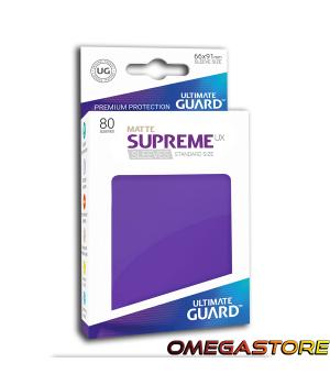 Ultimate Guard 80 pochettes taille standard Violet Matte