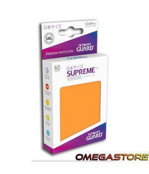 60 pochettes Orange - taille Japonaise  - Ultimate Guard