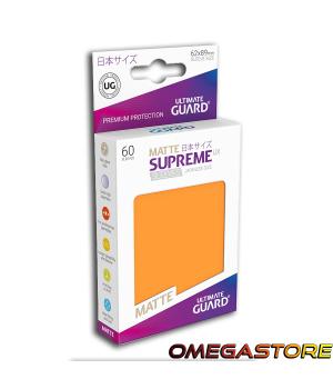 60 pochettes Orange Matte - taille Japonaise  - Ultimate Guard