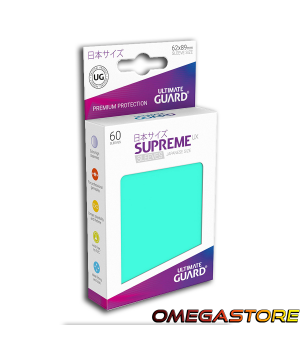 60 pochettes Turquoise - taille Japonaise  - Ultimate Guard