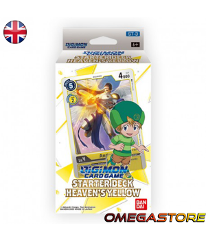 Starter Deck 3 - Heaven's Yellow - Digimon